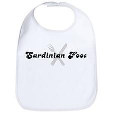 Sardinian Food (fork and knif Bib