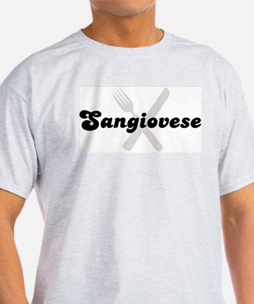 Sangiovese (fork and knife) T-Shirt