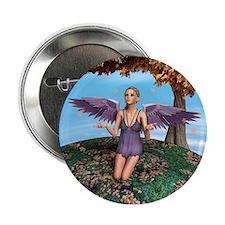 """Autumn Angel 2.25"""" Button"""