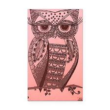 Cute owl Rectangle Car Magnet