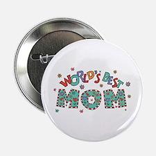 World's Best Mom Button