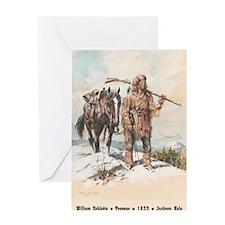 William Sublette 10x14 print Greeting Card