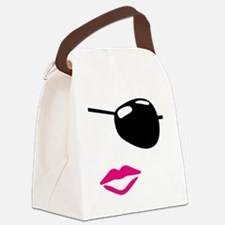 Eye Patch Canvas Lunch Bag
