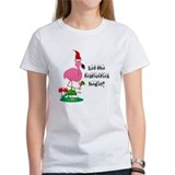 Flamingo festivities Women's T-Shirt