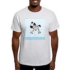 Cute Zebra with Blue Dots T-Shirt