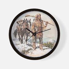 William Sublette 16x20 print Wall Clock