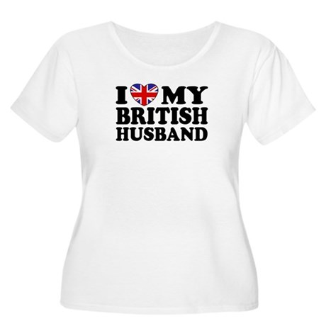 I Love My British Husband Women's Plus Size Scoop