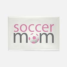 soccer mom soccer kid Rectangle Magnet