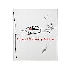 (almost) Empty Nester Throw Blanket