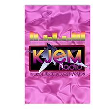 KJEM Radio EQ Pink Logo p Postcards (Package of 8)