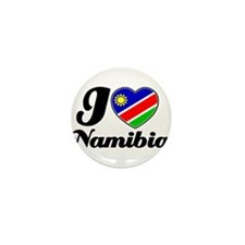 I love Namibia Mini Button