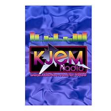 KJEM Radio EQ Blue Logo p Postcards (Package of 8)