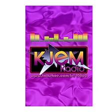 KJEM Radio EQ Purple Logo Postcards (Package of 8)