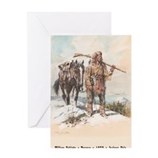 William Sublette 23x35 poster Greeting Card