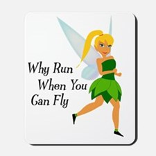 Why run when you can fly Mousepad