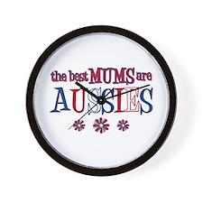 Aussie Mums Wall Clock