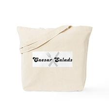 Caesar Salads (fork and knife Tote Bag