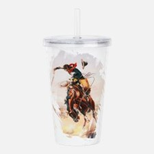 A Bad Hoss by Charles Acrylic Double-wall Tumbler