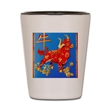Year Of The Ox Shot Glass
