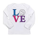 Volleyball Long Sleeve Tees