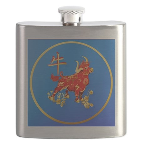 Year Of The Ox Flask