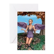 Autumn Angel Greeting Cards