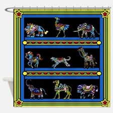 Circus March Shower Curtain