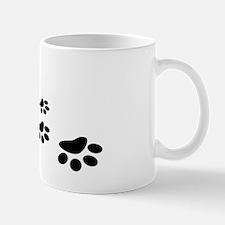 Paw Prints 2 Mug