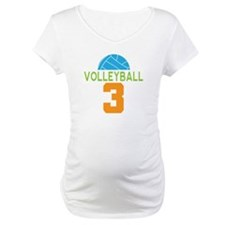 Volleyball Player Number 3 Shirt