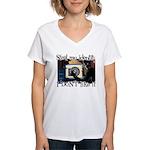 Steal My Identity Women's V-Neck T-Shirt