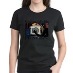Steal My Identity Women's Purple T-Shirt