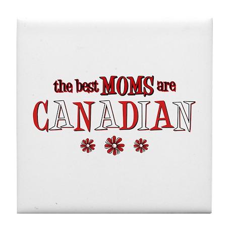 Canadian Moms Tile Coaster
