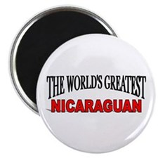 """The World's Greatest Nicaraguan"" Magnet"