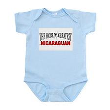 """The World's Greatest Nicaraguan"" Infant Bodysuit"