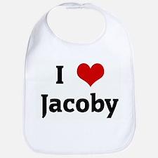 I Love Jacoby Bib