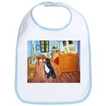 A Room with a Bernese Bib
