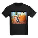 A Room with a Bernese Kids Dark T-Shirt