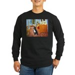 A Room with a Bernese Long Sleeve Dark T-Shirt