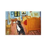 A Room with a Bernese Rectangle Magnet (10 pack)