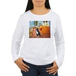 A Room with a Bernese Women's Long Sleeve T-Shirt