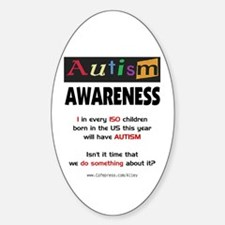 Autism:Do Something Oval Decal