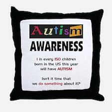 Autism:Do Something Throw Pillow