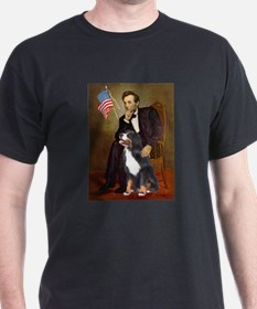 Lincoln & His Bernese T-Shirt