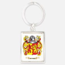 Hynes Coat of Arms (Family Crest Portrait Keychain