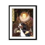 The Queen's Bernese Framed Panel Print