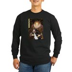The Queen's Bernese Long Sleeve Dark T-Shirt