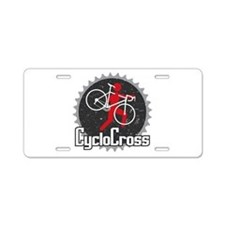 CX Barrier Aluminum License Plate