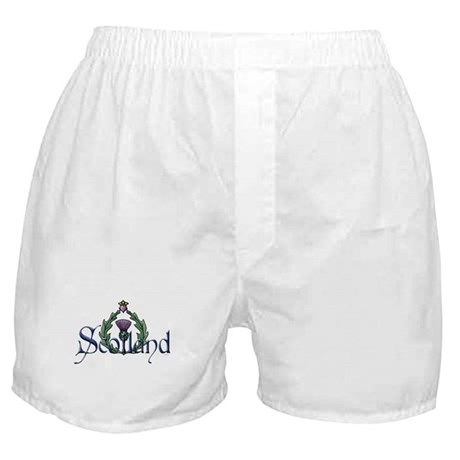 Scotland: Thistle Boxer Shorts