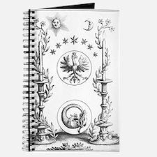 Alchemy Hermetecism print from the 1700s Journal