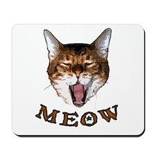 Meow, I Say Mousepad